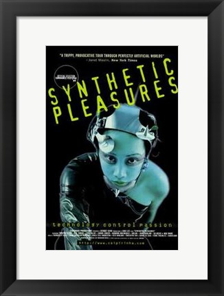 Framed Synthetic Pleasures Print
