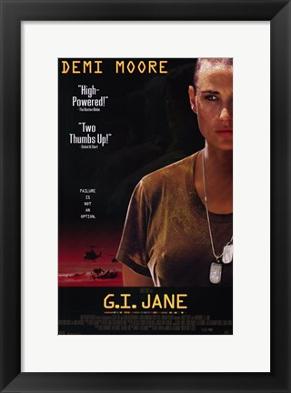 Framed Gi Jane Print