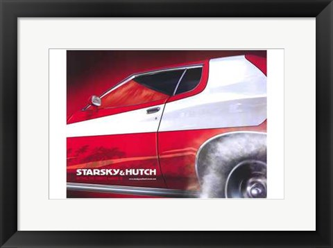 Framed Starsky Hutch - wide Print
