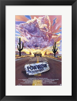 Framed Powwow Highway Print