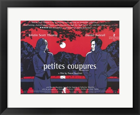 Framed Petites Coupures Print