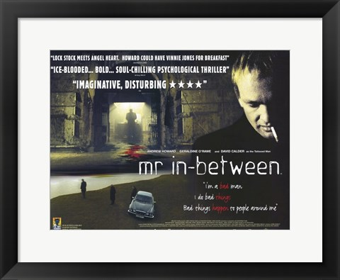 Framed Mr in-Between Print