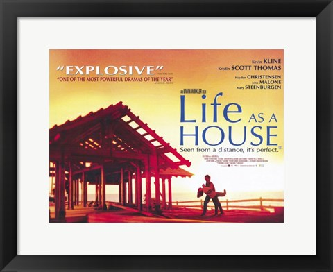 Framed Life as a House Print