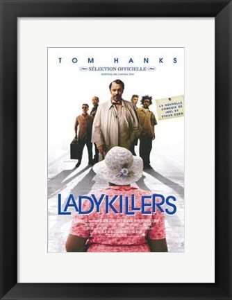 Framed Ladykillers - movie Print