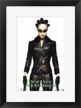 Framed Matrix Reloaded Niobe Print