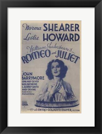 Framed Romeo and Juliet Original Metro-Goldwyn Mayer Print