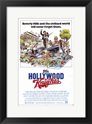 Framed Hollywood Knights Print