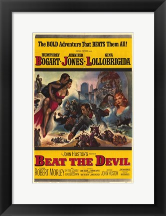 Framed Beat the Devil Print