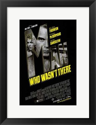 Framed Man Who Wasn't There Print
