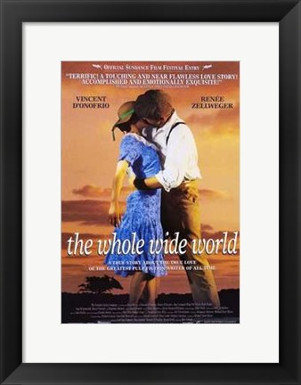 Framed Whole Wide World (movie poster) Print