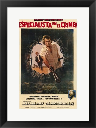 Framed Thunderbolt and Lightfoot Spanish Print