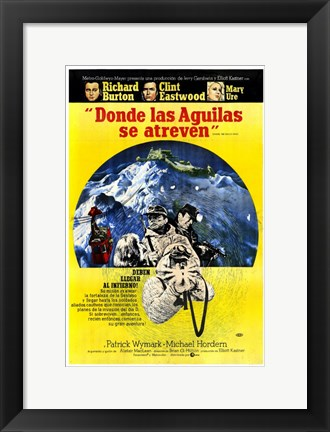 Framed Where Eagles Dare Print