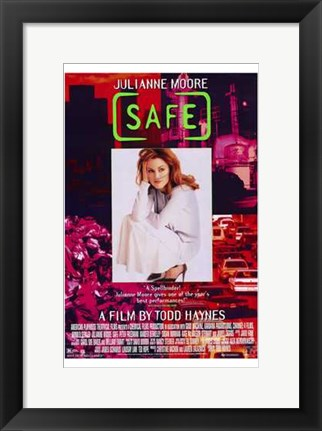Framed Safe By Todd Haynes Print