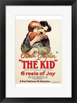 Framed Kid First National Attraction Print