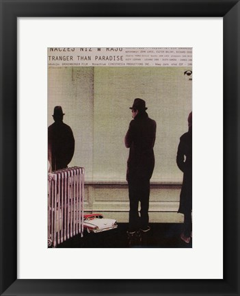 Framed Stranger Than Paradise Non-English Print