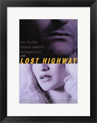 Framed Lost Highway - Mouths Print