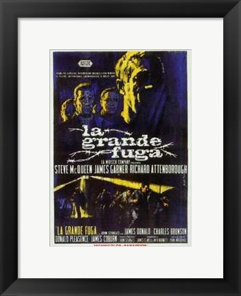 Framed Great Escape La Grande Fuga Print