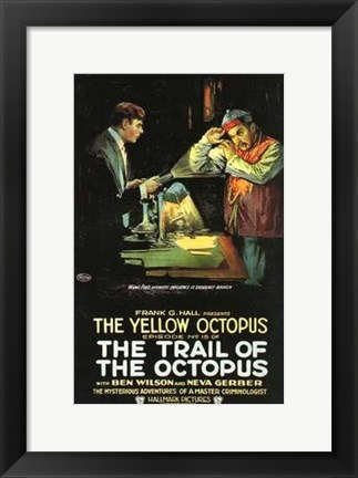 Framed Trail of the Octopus Print