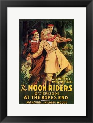 Framed Moon Riders Print