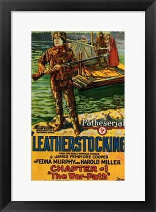 Framed Leatherstocking Print