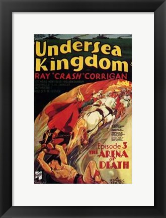 Framed Undersea Kingdom Print