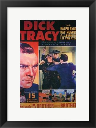 Framed Dick Tracy Comic: Episode 5 Print