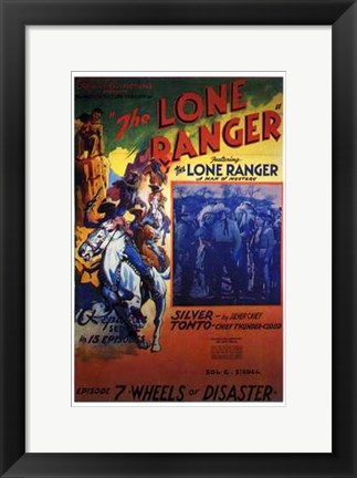 Framed Lone Ranger - Episode 7 Print