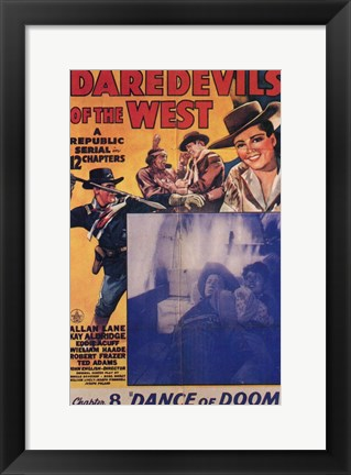 Framed Daredevils of the West Chapter 8 Print