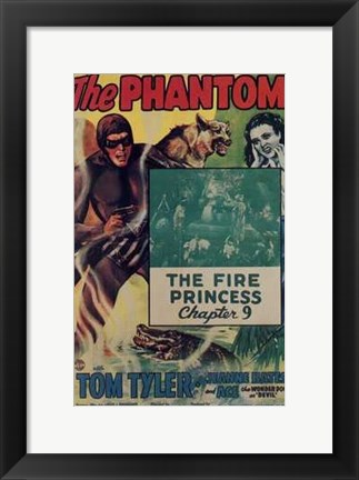 Framed Phantom - The Fire Princess Print