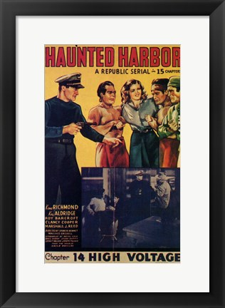 Framed Haunted Harbor Print