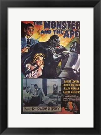 Framed Monster and the Ape Print