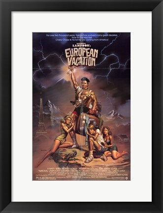 Framed National Lampoon's European Vacation Print