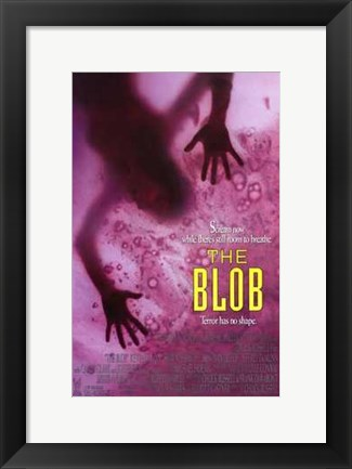 Framed Blob - movie Print