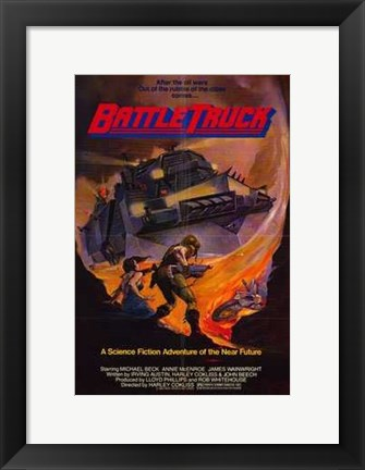 Framed Battletruck Print