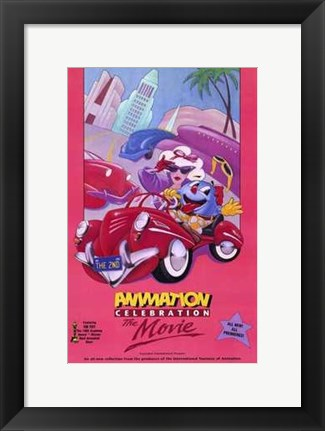 Framed 2Nd Animation Celebration the Movie Print