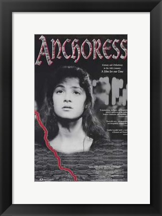 Framed Anchoress Print