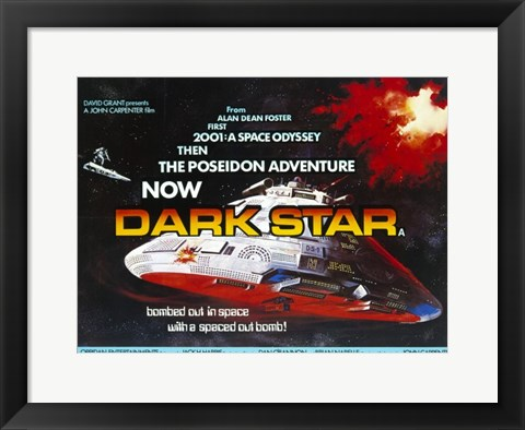 Framed Dark Star Print
