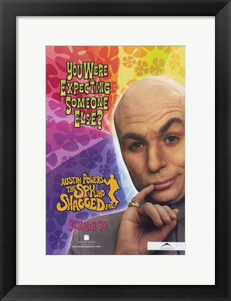 Framed Austin Powers 2: the Spy Who Shagged Me Movie Print