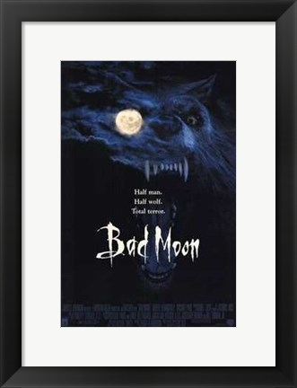 Framed Bad Moon Print
