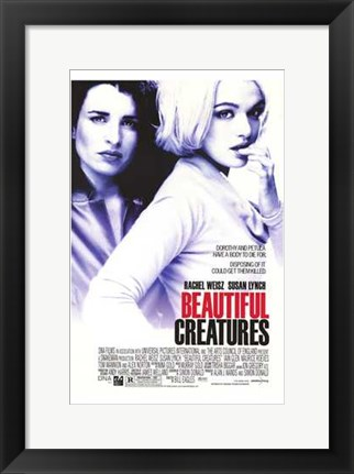 Framed Beautiful Creatures Print