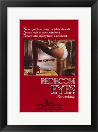 Framed Bedroom Eyes Print