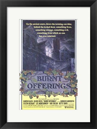 Framed Burnt Offerings Print