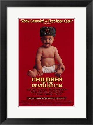 Framed Children of the Revolution Print