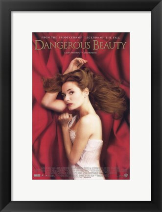 Framed Dangerous Beauty Print