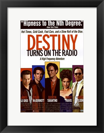 Framed Destiny Turns on the Radio Print