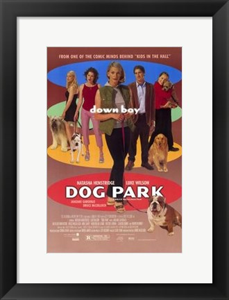 Framed Dog Park Print