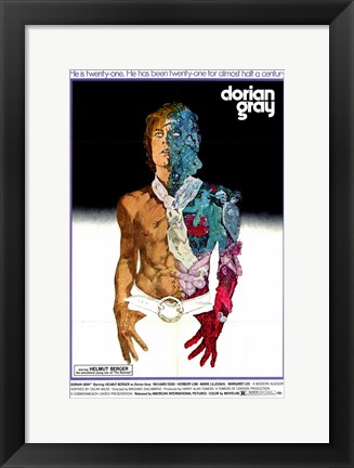 Framed Dorian Gray Print