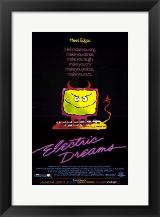 Framed Electric Dreams Print