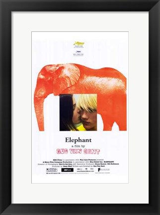 Framed Elephant Film By Gus Van Sant Print