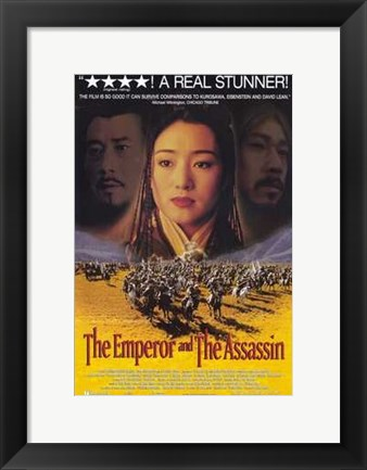 Framed Emperor and the Assassin Print